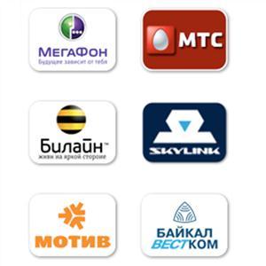Операторы сотовой связи Верхней Инты