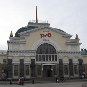 Железнодорожные вокзалы Верхней Инты